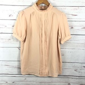 Monteau • Top • Light Pink • Large • Pleated